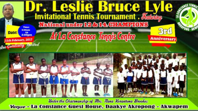 The Dr. Leslie Bruce Lyle Invitational Tennis Tournament