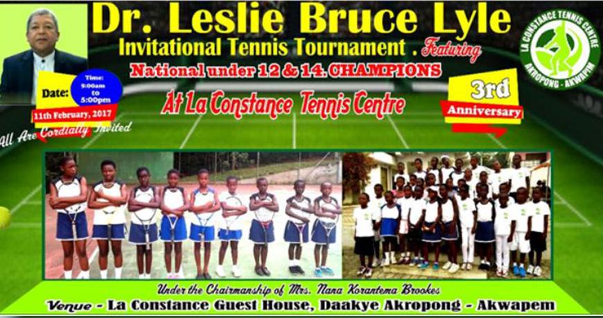 The Dr. Leslie Bruce Lyle Invitational Tennis Tournament