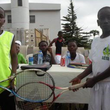 Tennis Warehouse – La Constance Invitational Tennis Tournament at Akropong Akwapim