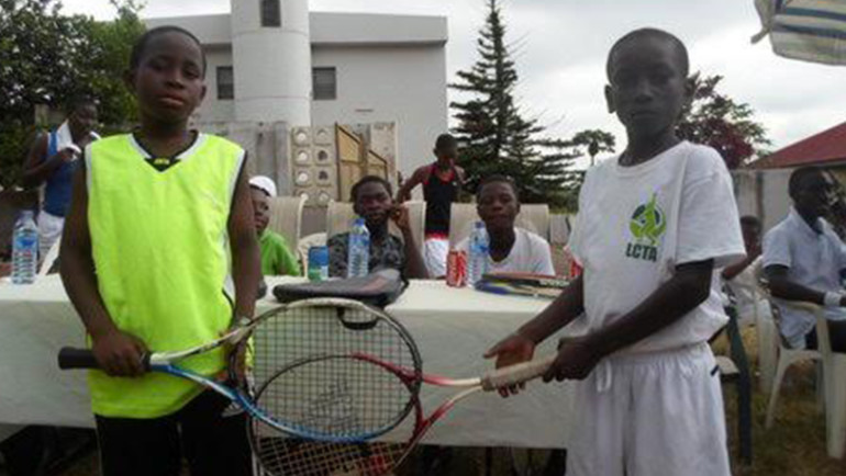 Tennis Warehouse – La Constance Invitational Tennis Tournament at Akropong Akwapim
