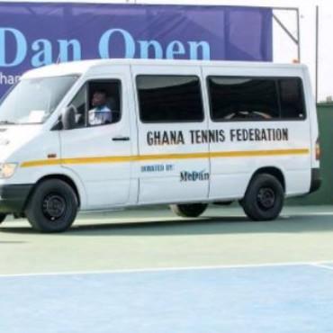 McDan donates bus to Ghana Tennis Federation
