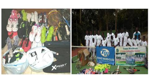 Tennis Warehouse Donates to the La Constance Tennis Center