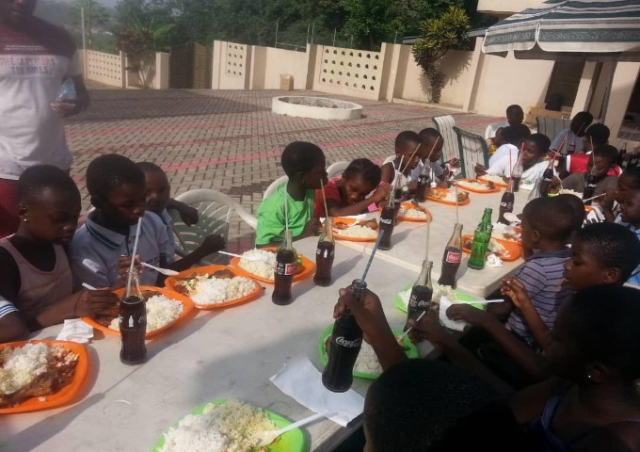 La Constance Tennis Center founder fetes academy kids